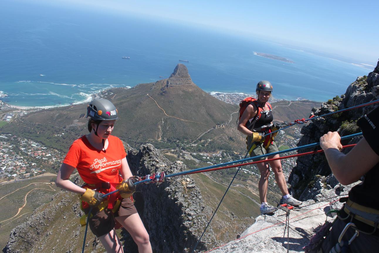 Abseiling Table Mountain Is Adrenaline Not To Be Missed