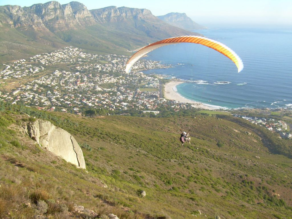 Tandem Paragliding Cape Town - ExtremeScene
